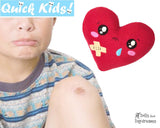 Quick Kids Booboo Heart Sewing Pattern hot and cold pack for kids injuries DIY