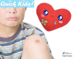ITH Quick Kids Booboo Heart Pattern