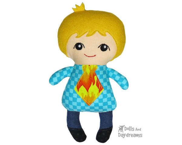 Tiny Tim Sewing Pattern - Dolls And Daydreams - 3