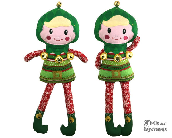 ITH Enchanted Elf Pattern - Dolls And Daydreams - 4