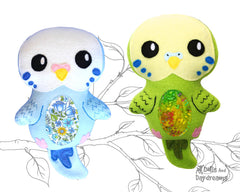 Budgerigar Parakeet Sewing Pattern