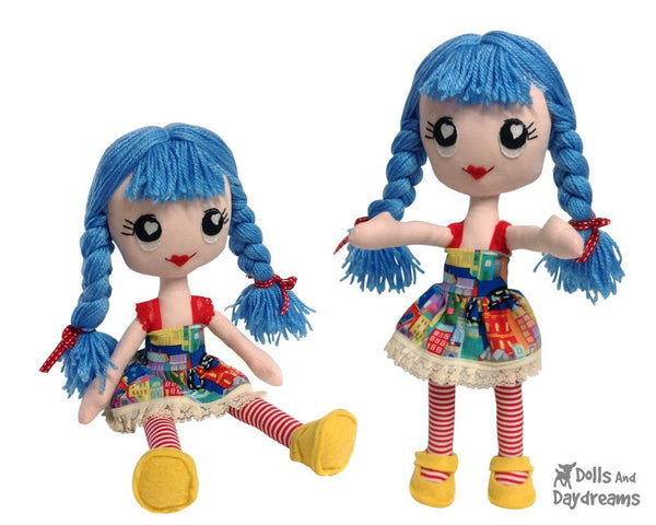 Poppy Poppet Sewing Pattern - Dolls And Daydreams - 5