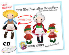 ITH Mrs. Claus and Elves Pattern Pack - Compact Disc
