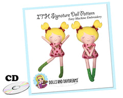 ITH Signature Doll Pattern - Compact Disc