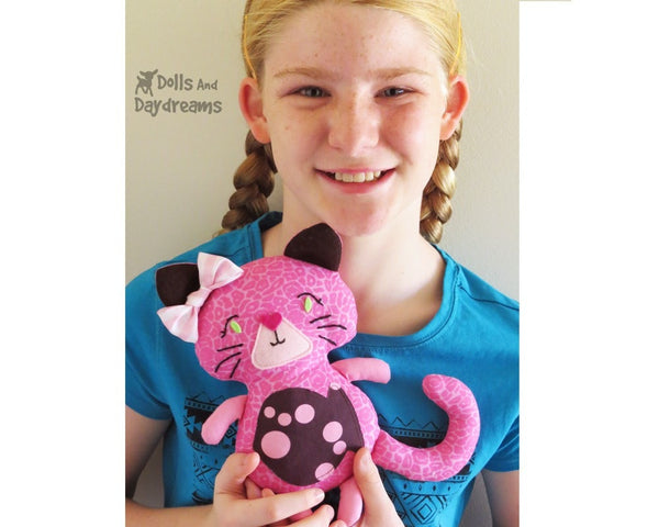 Kitty Cat Sewing Pattern - Dolls And Daydreams - 5