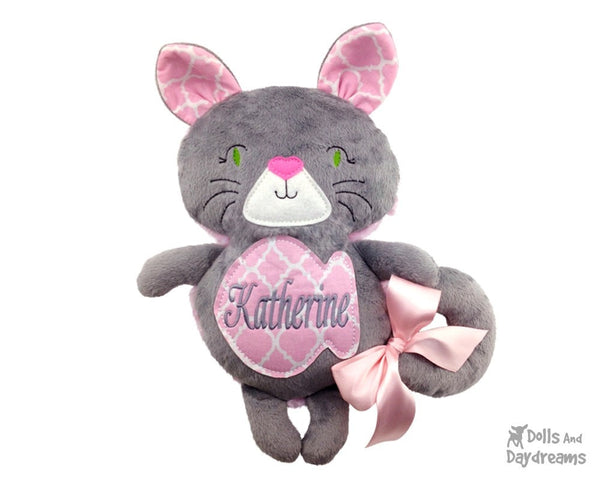 Kitty Cat Sewing Pattern - Dolls And Daydreams - 4