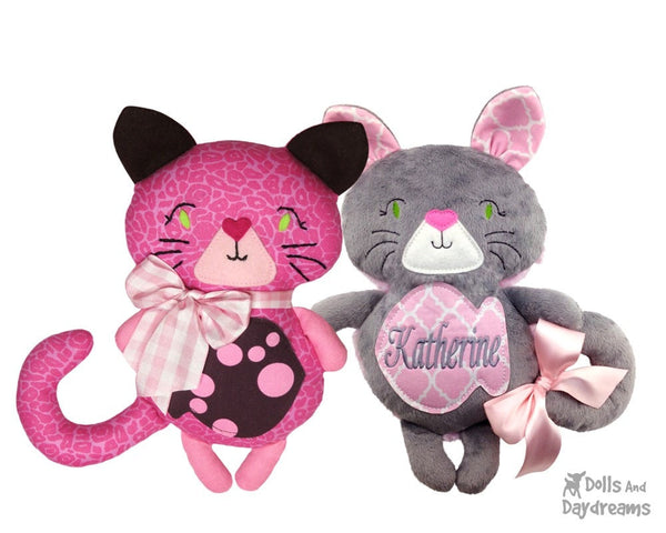 Kitty Cat Sewing Pattern - Dolls And Daydreams - 2