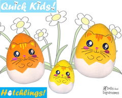 ITH Quick Kids Cat Hatchling Pattern