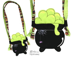 ITH Tiny Cauldron Tote Pattern