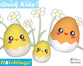 ITH Quick Kids Chick Hatchling Pattern