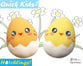 Quick Kids Chick Hatchling Sewing Pattern