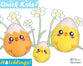 ITH Quick Kids Chick Egg Head Hatchling Pattern