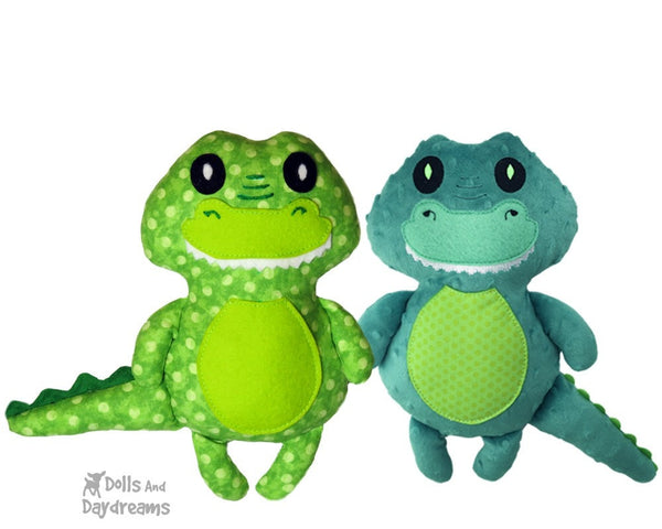 Baby Croc Sewing Pattern - Dolls And Daydreams - 6