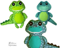 Baby Croc Sewing Pattern - Dolls And Daydreams - 1