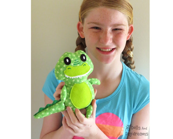 Baby Croc Sewing Pattern - Dolls And Daydreams - 4