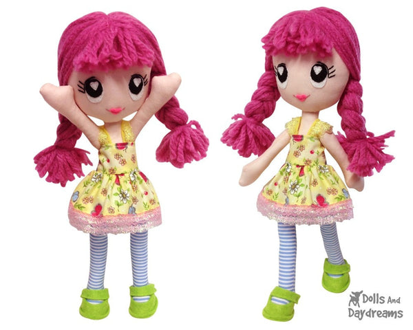 Poppy Poppet Sewing Pattern - Dolls And Daydreams - 3