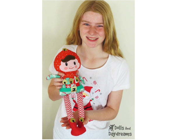Enchanted Elf Sewing Pattern - Dolls And Daydreams - 5