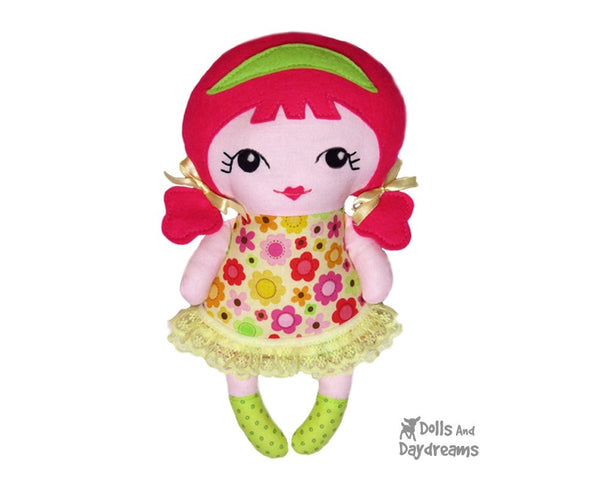 Tiny Tilda Sewing Pattern - Dolls And Daydreams - 2