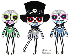 Day of the Dead Boy Sewing Pattern
