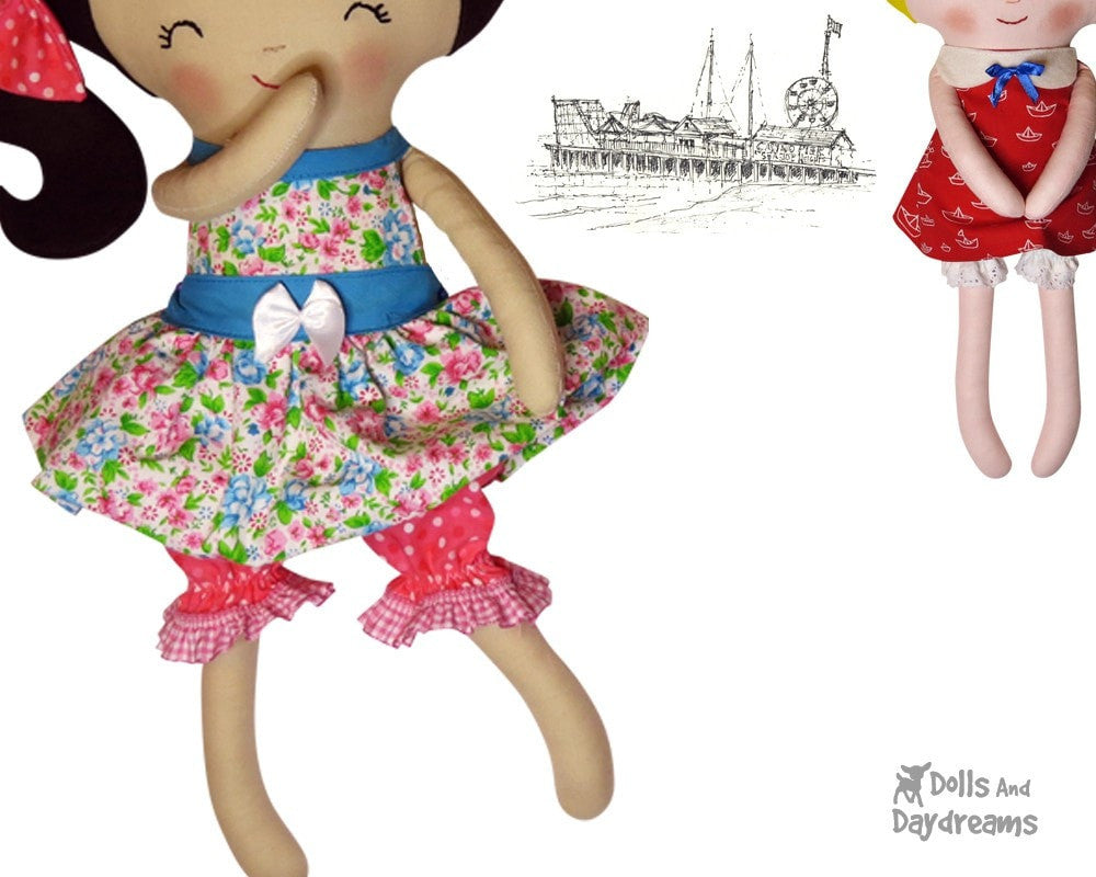 Doll Bloomers & Panties Sewing Pattern | Dolls And Daydreams