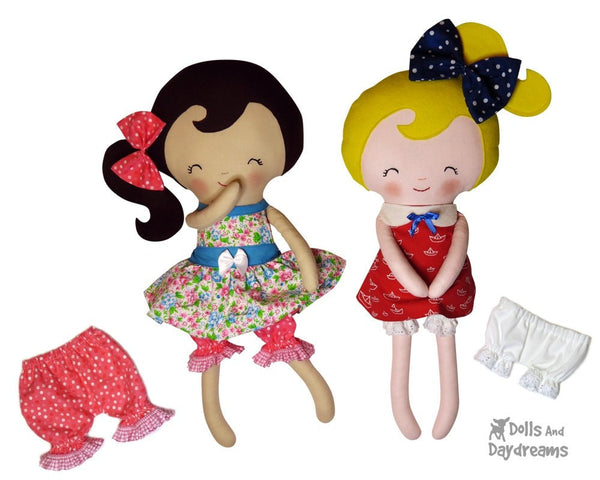 Bloomers & Panties Sewing Pattern - Dolls And Daydreams - 3