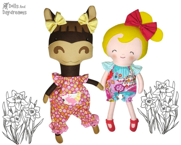 Romper Sewing Pattern - Dolls And Daydreams - 2