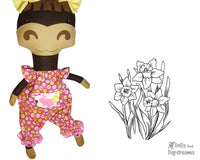 Romper Sewing Pattern - Dolls And Daydreams - 1