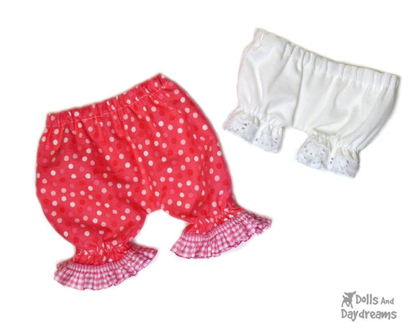 Bloomers & Panties Sewing Pattern - Dolls And Daydreams - 2