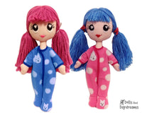 Poppet PJ Sewing Pattern - Dolls And Daydreams - 1
