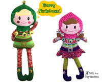 ITH Enchanted Elf Pattern - Dolls And Daydreams - 1
