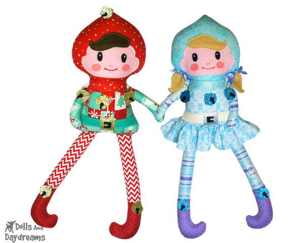 Enchanted Elf Sewing Pattern by Dolls And Daydreams