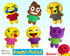 Quick Kids Emoji Pack Sewing Pattern by Dolls And Daydreams Easy DIY Soft Toy plushie