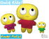 ITH Quick Kids Eye Roll Emoji Doll Plush Pattern DIY Machine Embroidery In The Hoop Toy