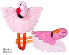 Flamingo Pro Grow with Me Baby Blanket Sewing Pattern