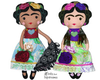 Mexican Folk Art Doll Sewing Pattern