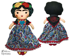 ITH Mexican Folk Art Doll Pattern