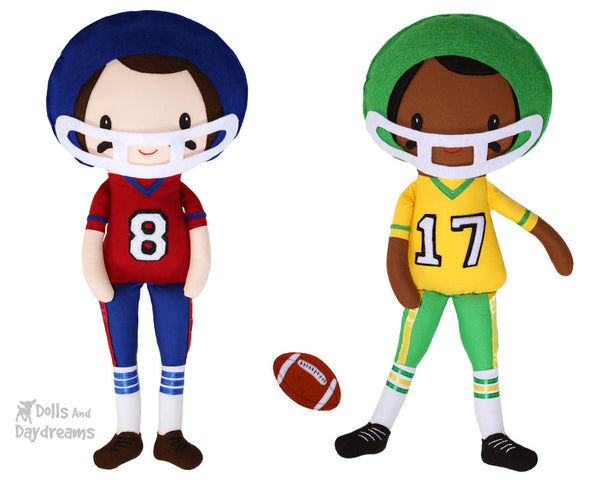 Footballer Sewing Pattern