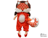 Fox Mask & Tail Pattern - Dolls And Daydreams - 1