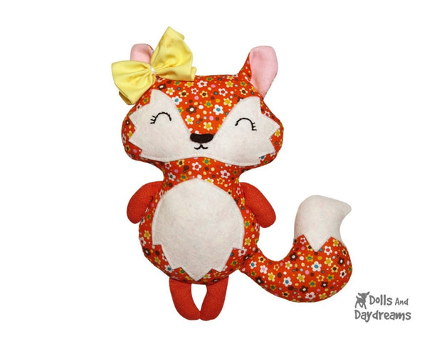 Baby Fox Sewing Pattern - Dolls And Daydreams - 3
