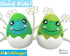 Quick Kids Frog Hatchling Sewing Pattern