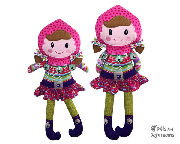 ITH Enchanted Elf Pattern - Dolls And Daydreams - 3