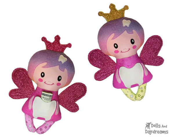Secret Pocket Tooth Fairy Sewing Pattern - Dolls And Daydreams - 1