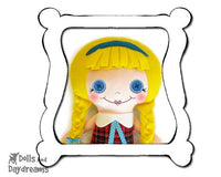 Hand Embroidery Or Painting Button Baby Doll Face Pattern - Dolls And Daydreams - 1