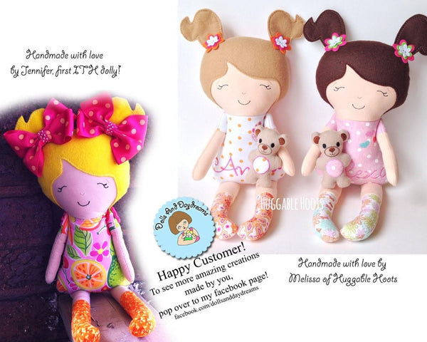 Embroidery Machine ITH Doll Pattern - Dolls And Daydreams - 5