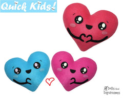 Quick Kids 'Love U' Heart Sewing Pattern