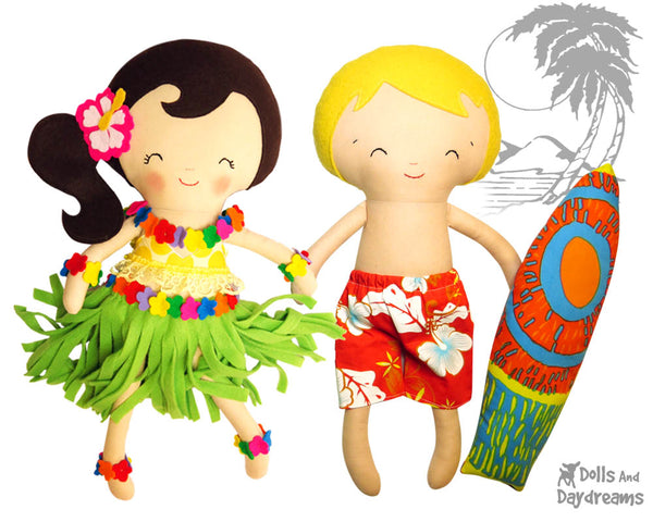 Hula Beach Girl Sewing Pattern