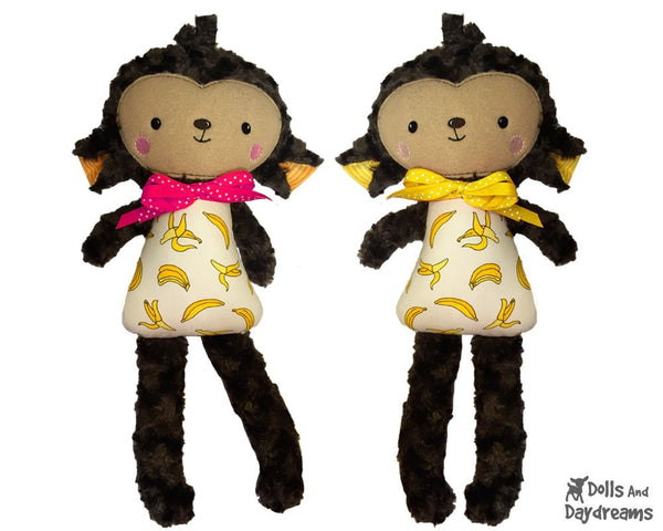 ITH Big Monkey Pattern - Dolls And Daydreams - 1