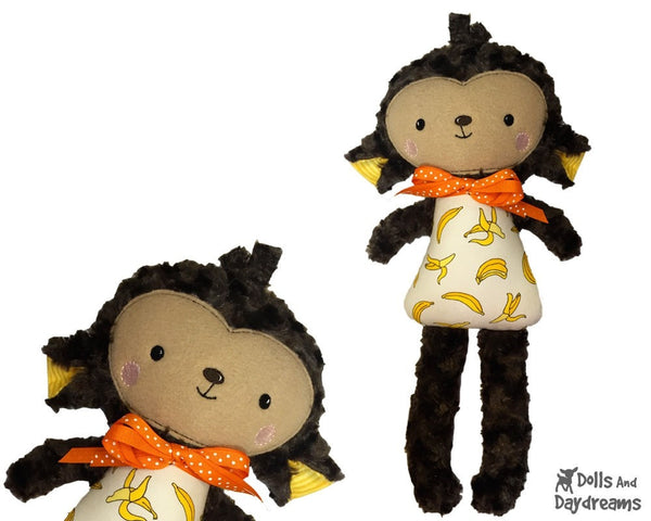 ITH Big Monkey Pattern - Dolls And Daydreams - 4