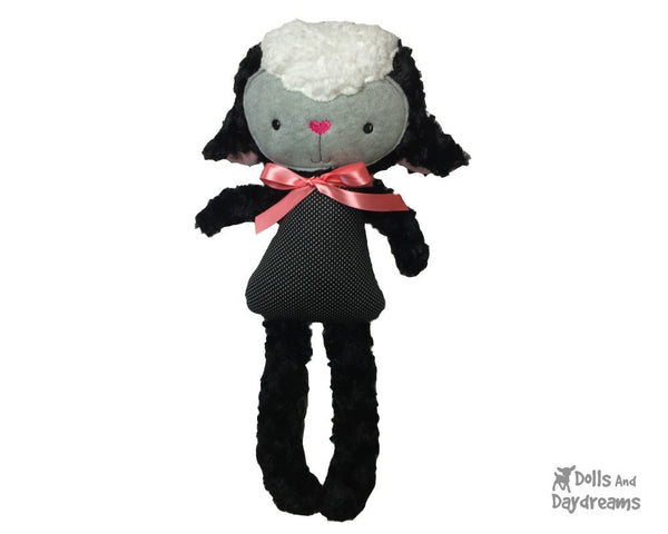ITH Big Lamb Pattern - Dolls And Daydreams - 4