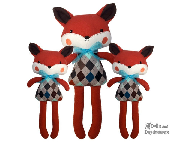 ITH Big Fox Pattern - Dolls And Daydreams - 3